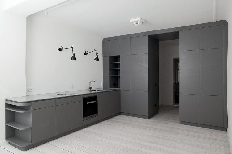 Einbaumöbel Raummöbel Küchenmöbel Raumfigur
